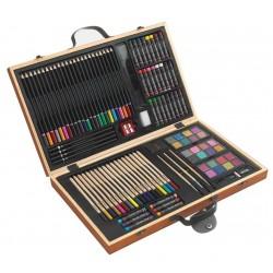 MONET 88 darabos művész színező készlet