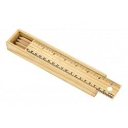 STRAIGHT 8 db színes ceruza natúr fából, kihegyezve